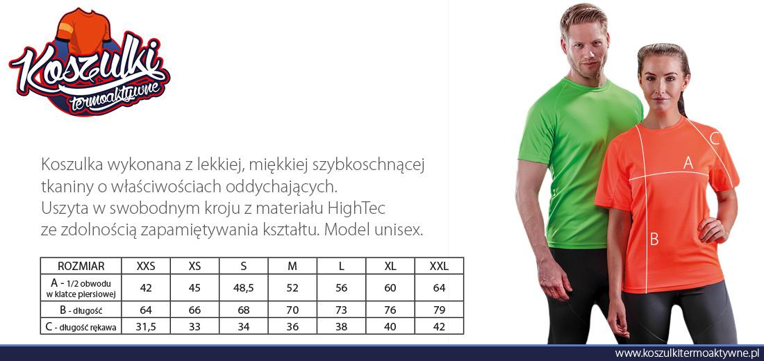 RT287 koszulka sportowa aircool hightec